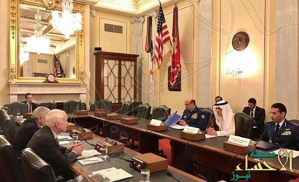 """""""الجبير"""" يعقد لقاءات مع أعضاء الكونجرس الأمريكي"""