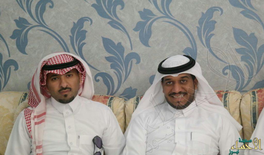 """الحربي"" تحتفل بعقد قران ابنها ""محمد"""