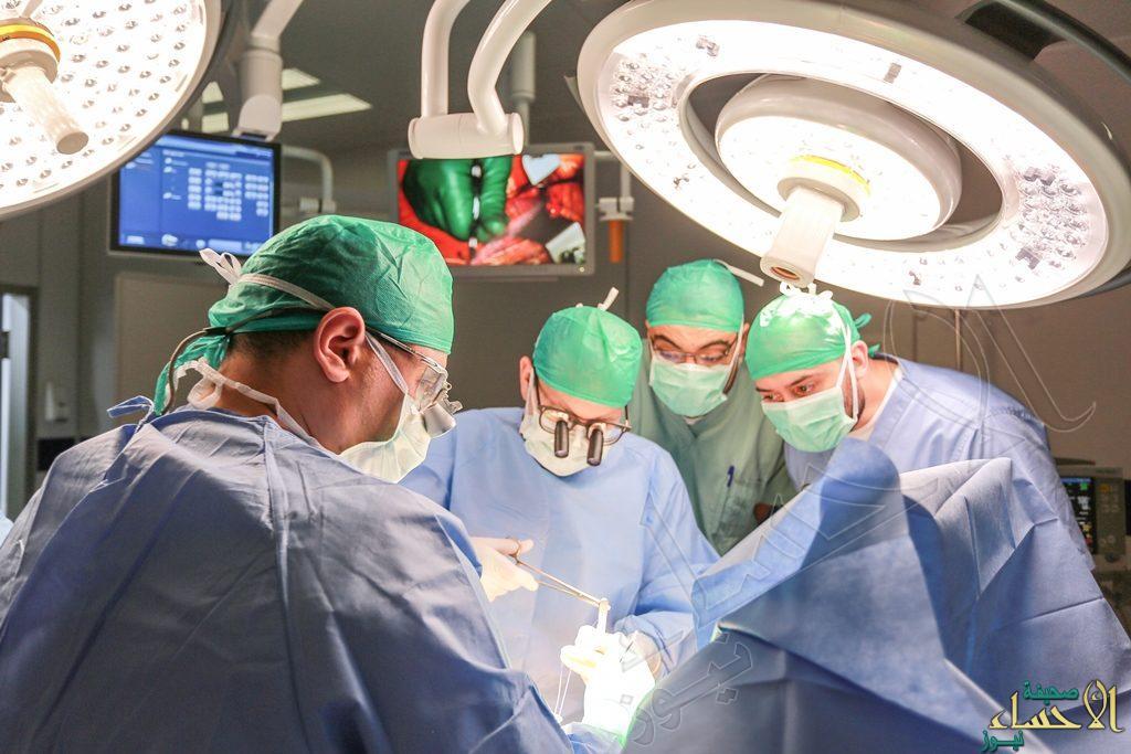 """? لأول مرة بالأحساء.. نجاح جراحة """"تقعر الصدر"""" لطفل 7 سنوات بمستشفى """"الموسى"""""""