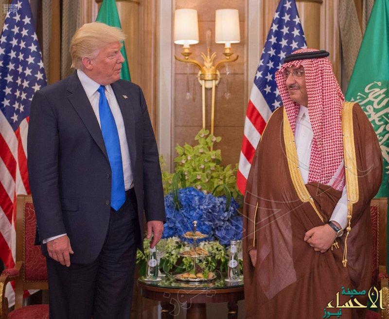 ولي العهد يبحث مع الرئيس الأمريكي العلاقات الثنائية بين البلدين والتعاون في مجال مكافحة الإرهاب