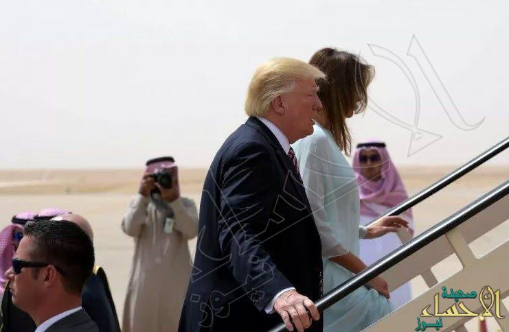 ترامب يغادر الرياض بعد زيارة رسمية استمرت يومين