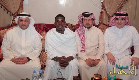 بالصور.. رئيس اتحاد الكرة يستقبل النجم الفرنسي بول بوجبا