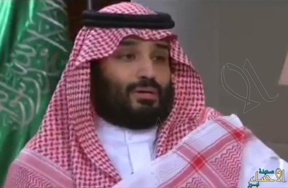 بالفيديو.. مقابلة شاملة مع ولي ولي العهد على القناة السعودية