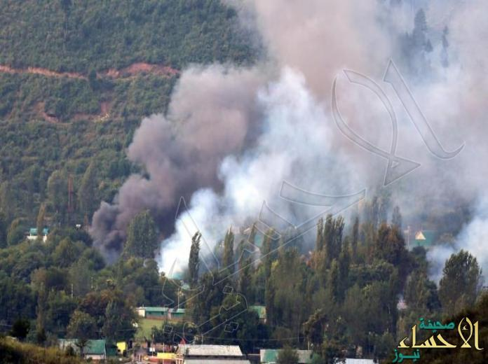 إصابة 4 مدنيين جراء قصف هندي للجانب الباكستاني من الخط الفاصل في كشمير