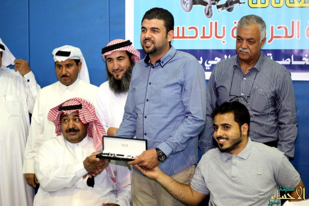"""نادي الحي بمدينة العيون يستقبل فريق """"عطاء"""" ذوي الإعاقة"""