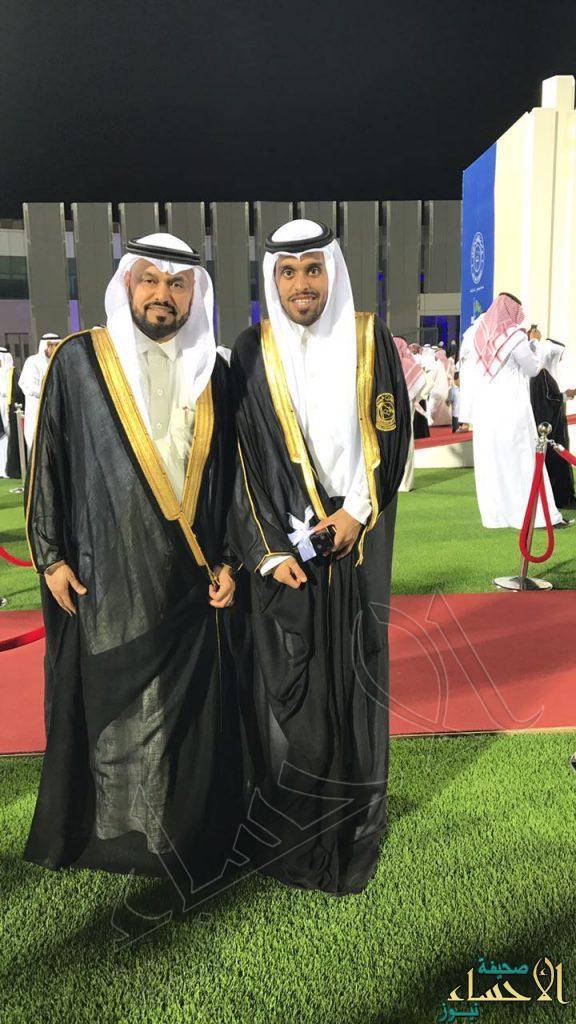 """""""آل ظفر"""" تحتفل بتخرج ابنها """"عبدالعزيز """""""