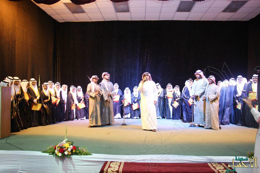 """في 80 صورة.. """"النخبة النموذجية"""" تزف خريجيها بحضور سمو الأمير """"عبدالعزيز بن محمد"""""""