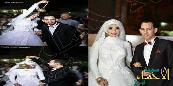 وفاة عروس مصرية أثناء حفل زفافها !!