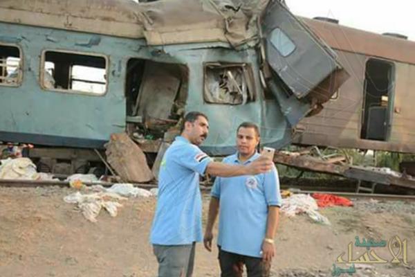 """مصر… """"سيلفي قطار الموت"""" ينقل مسعفين للحدود !!"""