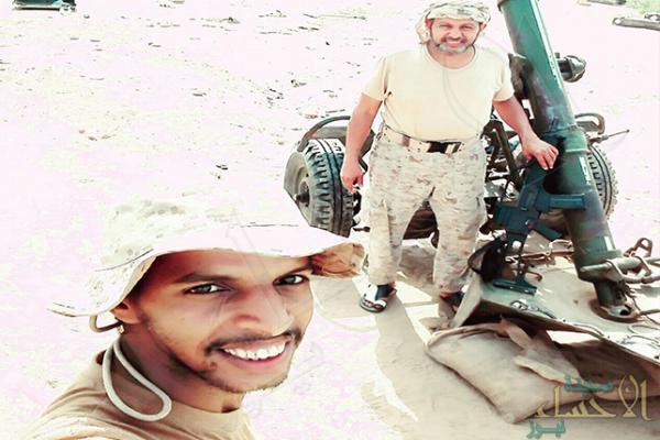 حكاية صورة: أب وابنه يرابطان على الحد الجنوبي !!