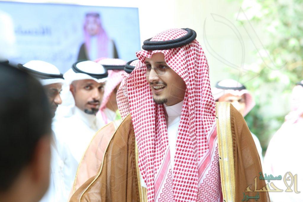 """الأمير """"أحمد بن فهد"""" يشيد بمخطط أمانة #الأحساء الإرشادي"""