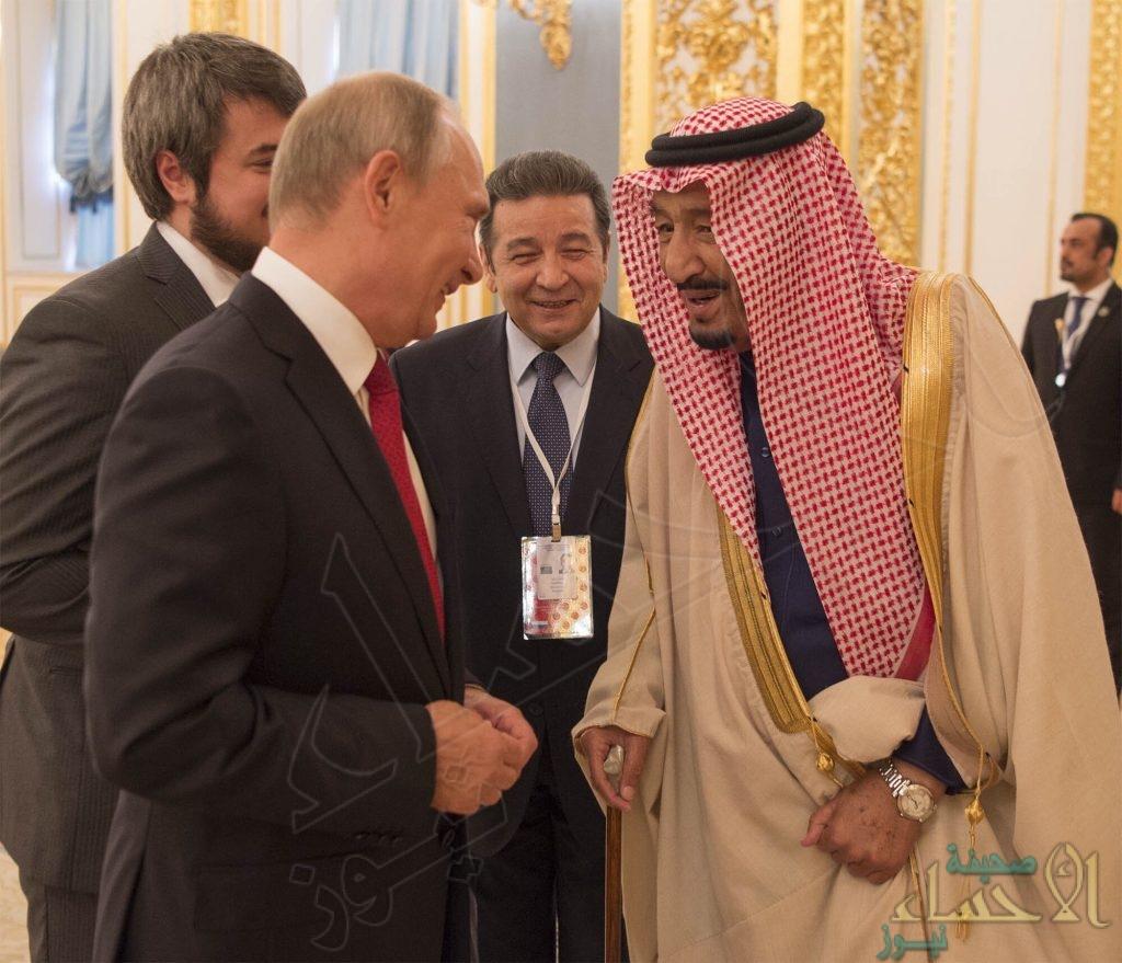 خادم الحرمين يدعو الرئيس الروسي لزيارة المملكة.. وبوتين: سألبي الدعوة