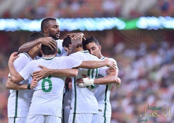 بالصور .. المنتخب السعودي يتغلب وديًا على جامايكا