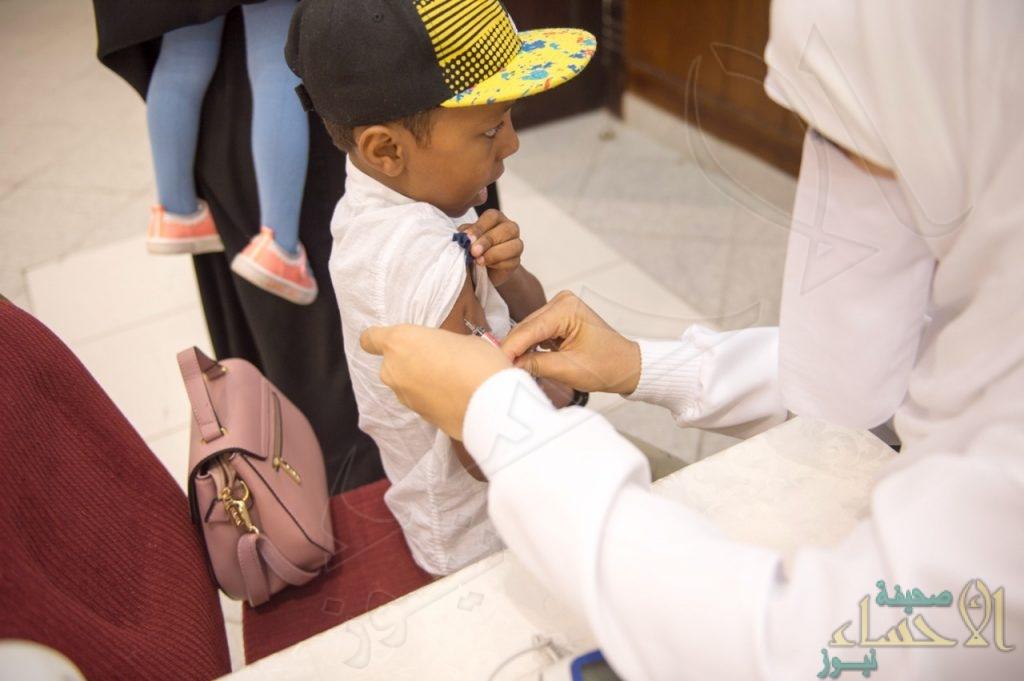 """حملة تطعيم تطوعية بـــ""""طرف"""" الأحساء ضد الإنفلونزا الموسمية"""