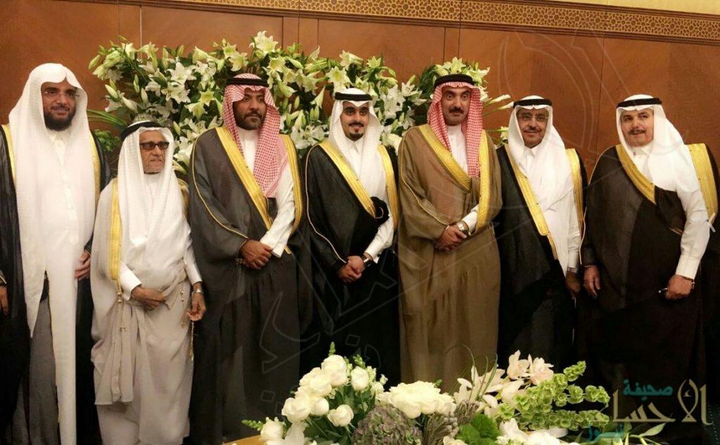 """بالصور … """"القرينيس """"… تحتفل بزفاف ابنها """"عبد الرحمن"""""""