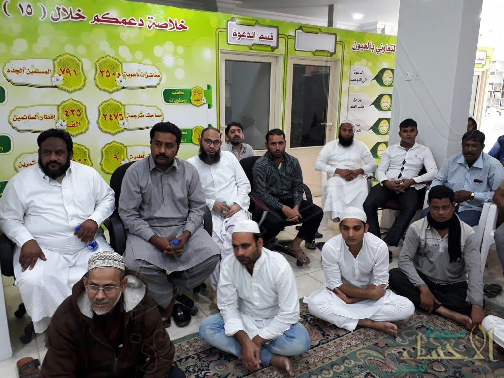 بالصور..تعاوني العيون.. يستعرض الدروس المستفادة من قصة زماد الاستي مع النبي