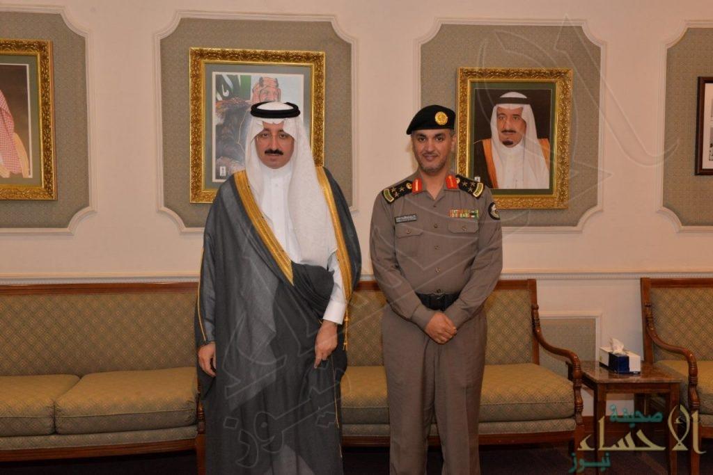 بالصور.. سمو المحافظ يستقبل مدير شرطة #الأحساء
