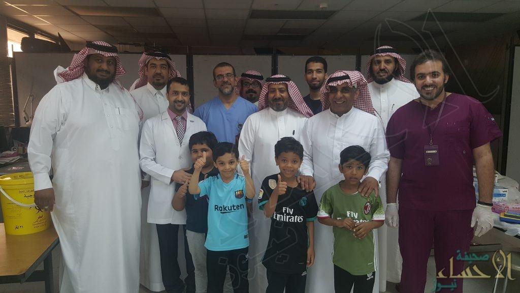 حملة التطعيمات الأساسية… تستهدف 130 طالباً بإبتدائية الأمير محمد بن فهد