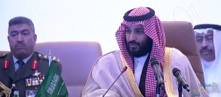 ولي العهد: لن نسمح للإرهاب بتشويه الإسلام وترويع المدنيين