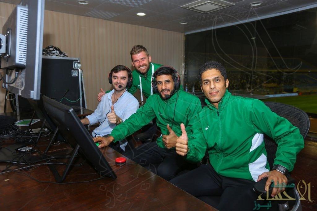نجاح التجربة الأولى لتقنية الفيديو بالدوري السعودي