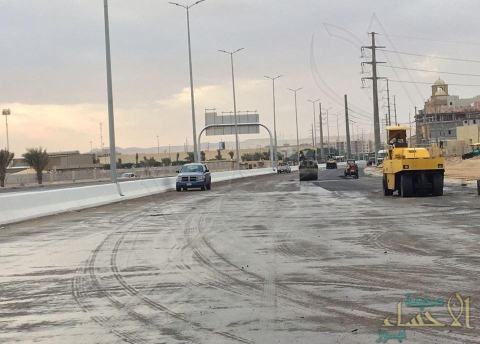 """قريباً.. تدشين آخر مراحل تقاطع طريق """"الملك فهد"""" مع طريق """"الديوان"""" بالهفوف"""