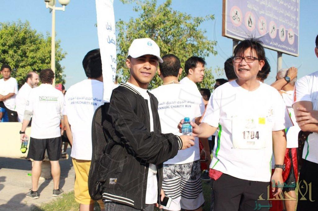 """منسوبي مركز التدريب البيطري يشاركون في سباق الجري السنوي""""22″"""
