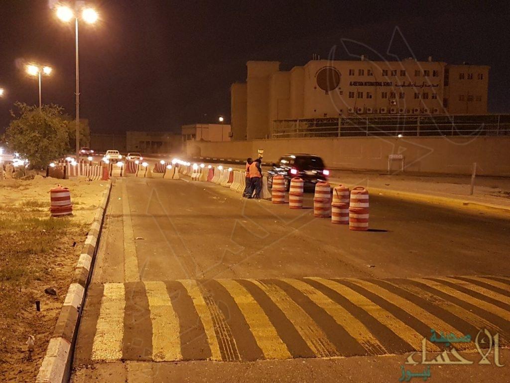 بالصور… #الأحساء_نيوز ترصد حلول المرور لإخفاقات المقاول في أحياء #محاسن