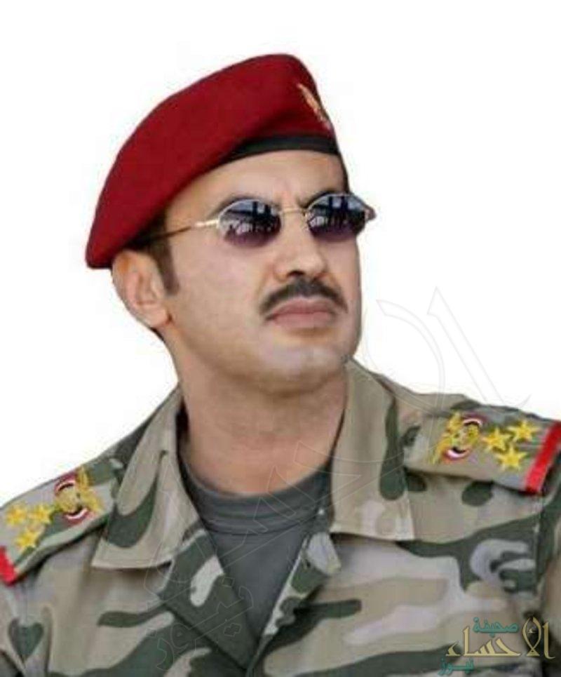 """الابن الأكبر لـ""""صالح"""": دماء والدي ستكون جحيمًا يرتد على أذناب إيران"""