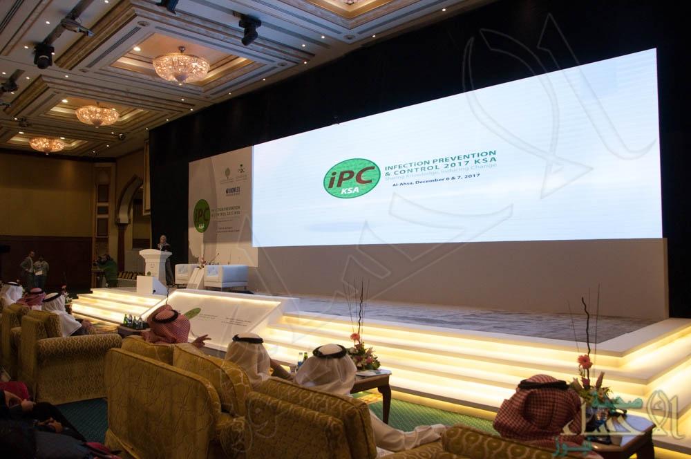 """الدكتور """"الحقوي"""": مؤتمر """"مكافحة العدوى"""" الدولي يدعم الجهود لجعل """"بيئة المستشفيات"""" صحية وآمنة"""