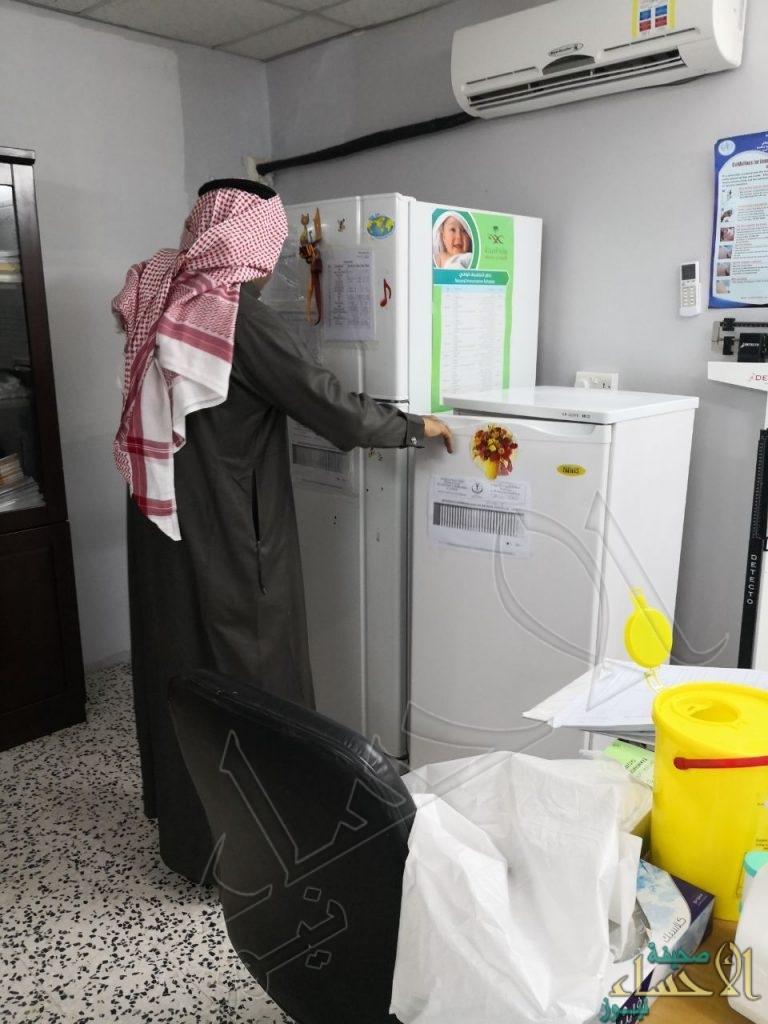 """بالصور.. """"السلطان"""" يتفقد مراكز الصحة العامة في الهجر النائية بالأحساء"""