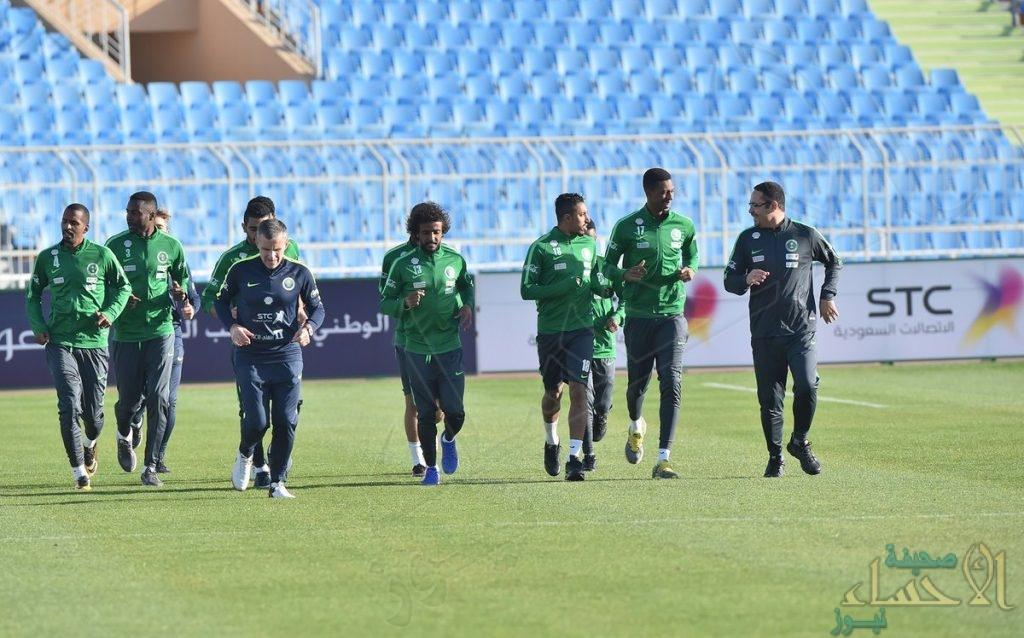 بالصور .. لاعبو المنتخب السعودي ينضمون إلى معسكر الرياض استعدادا للمونديال