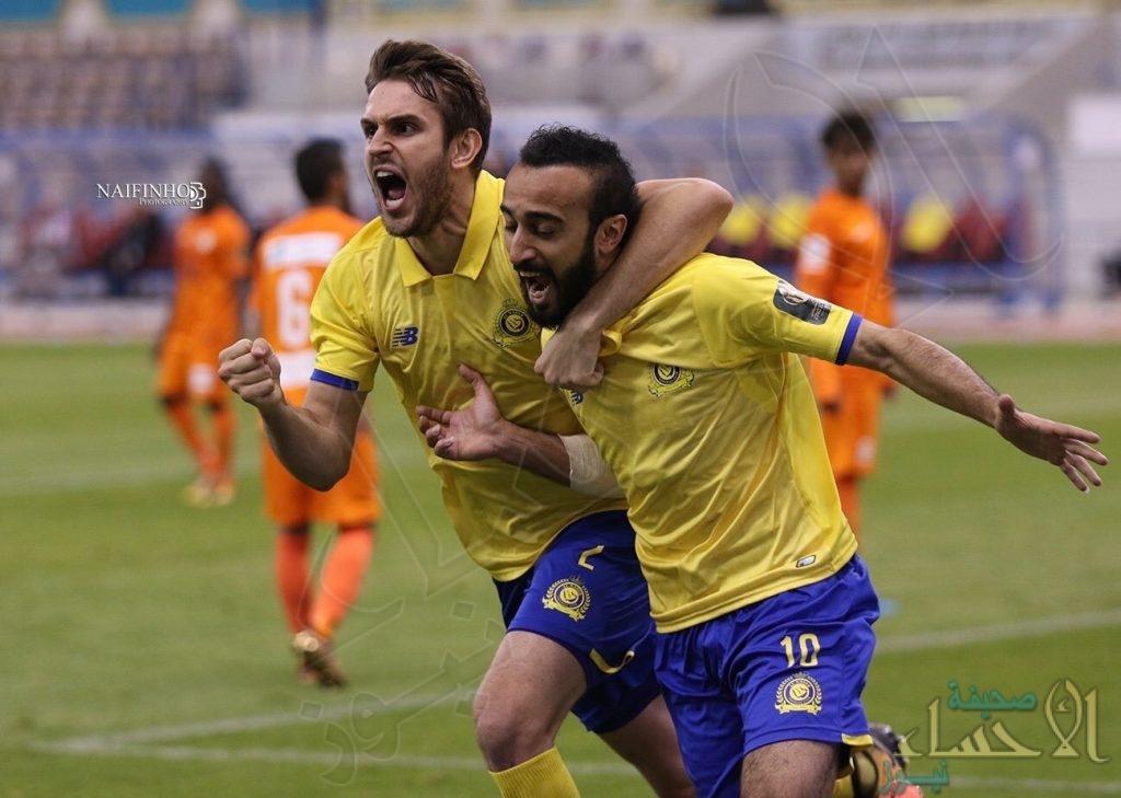 النصر يتأهل إلى دور الـ16 لكأس خادم الحرمين الشريفين لكرة القدم