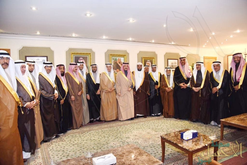 """بالصور.. سمو """"محافظ الأحساء"""" يستقبل رئيس و أعضاء """"بلدي الأحساء"""" في فترته الثانية"""