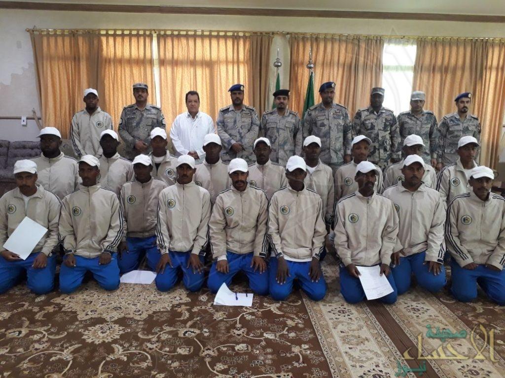 """بالصور… حملة للتبرع بالدم تستهدف منسوبي """"مركز تدريب حرس الحدود"""" بالشرقية"""