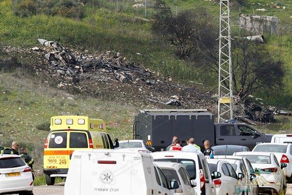 """تأهب في قاعدة """"العديد"""" القطرية بعد سقوط طائرة إسرائيلية بنيران سورية"""