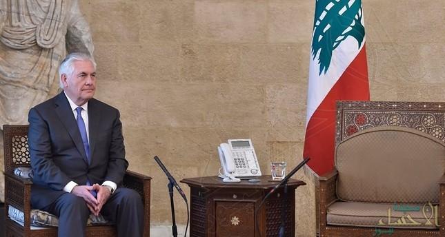 """هل تعرض وزير الخارجية الأمريكي لـ""""إهانة دبلوماسية"""" في لبنان؟"""