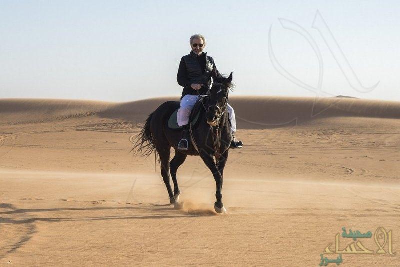 شاهد.. #الوليد_بن_طلال في أول تغريداته: أنا برفقة أهلي وناسي بمخيم البر