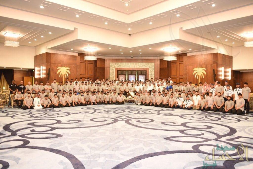 """بالصور.. سمو الأمير """"سعود بن نايف"""" يستقبل فريق """"البحث والإنقاذ"""" التطوعي بالشرقية"""