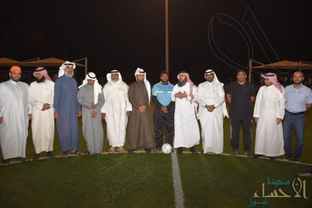بالصور.. انطلاق بطولة كأس مستشفى مدينة العيون لكرة القدم