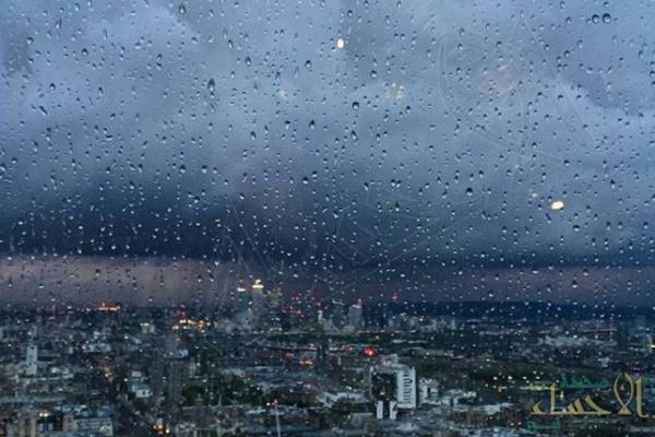 """حتى هذه الساعة … أمطار متوسطة إلى غزيرة تشهدها """"الأحساء"""" ومدن الشرقية"""