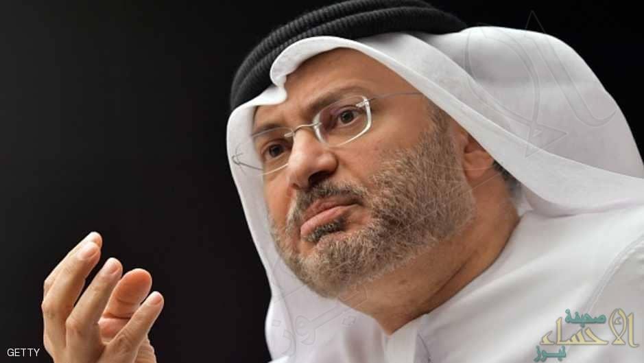 """""""قرقاش"""" يصف قرار قطر بمنع مواطنيها من الحج بالشاذ"""