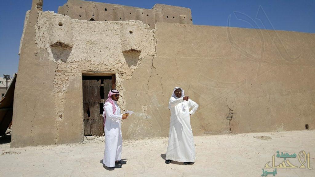 """مدير """"سياحة الأحساء"""" يزور """"قصر محيرس"""" الأثري"""