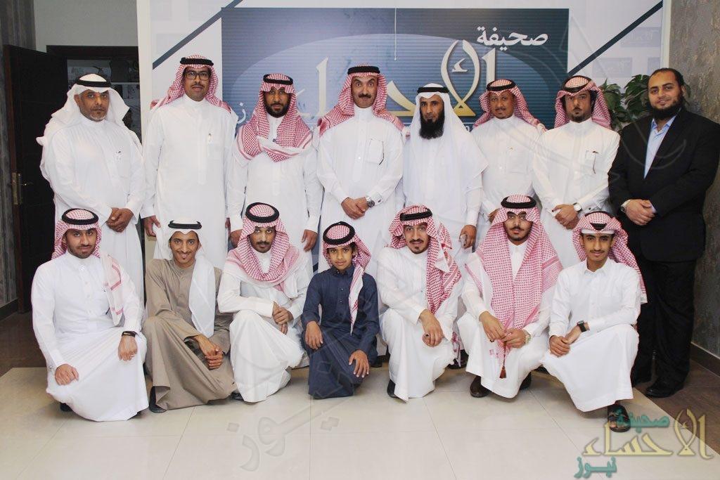 """بالصور… سمو الأمير """"عبدالعزيز بن محمد"""" في ضيافة صحيفة """"الأحساء نيوز"""""""