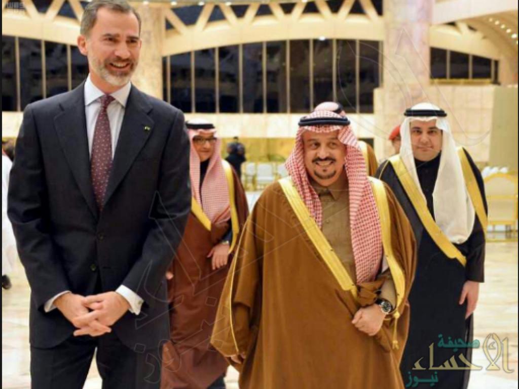 ملك إسبانيا يصل إلى الرياض