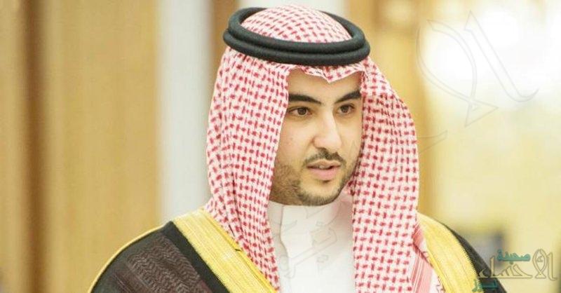 """""""خالد بن سلمان"""": المملكة تسعى لمسارٍ تصحيحي حازم دون المساس بالحساسيات الدينية"""