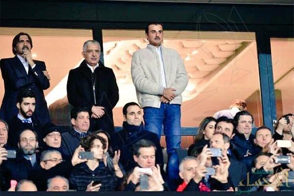 """حسرة """"تميم"""" و""""حمد"""" على ضياع أموالهما بملعب الأمراء !!"""
