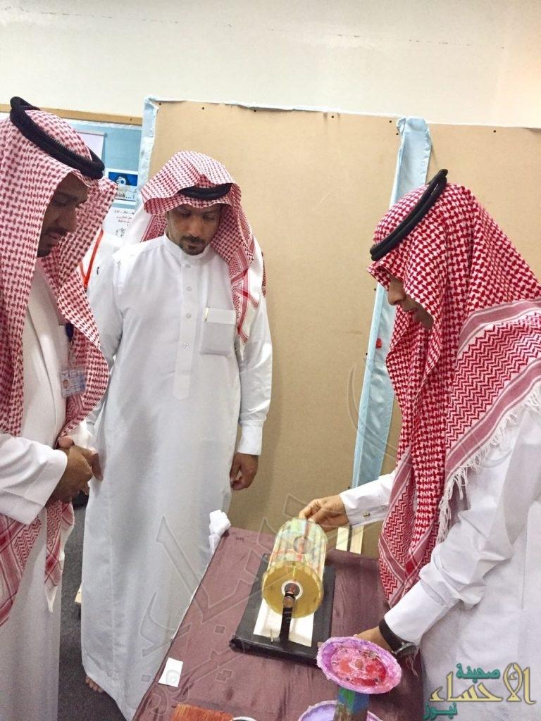 بالصور… السعودية الثانوية تقيم معرض التجارب العلمية