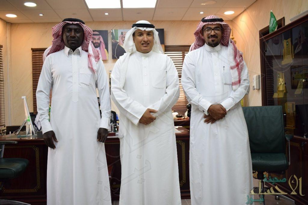 """مدير """"جمرك البطحاء"""" يطلع على عمل """"اللجنة المنظمة"""" للبطولة الرياضية الثقافية"""