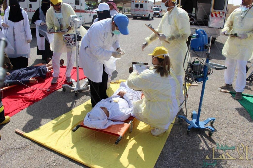 """بالصور… وحدة الإطفاء بالقطاع الشرقي تُنفذ فرضية """"إدارة الكوارث والأزمات"""""""