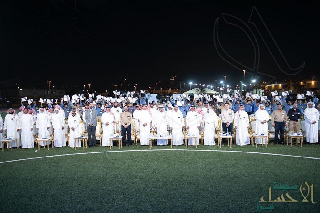 """السعودية للكهرباء"""" تواصل تخريج مئات الكوادر الوطنية وتزف أكثر من (150) خريج بالدمام"""